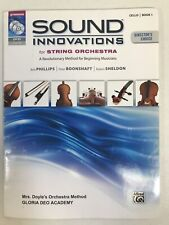 Sound Innovations for String Orchestra Cello Book 1 One with Dvd Mp3