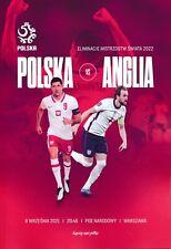 More details for poland v england (world cup 2022 qualifier 08.09) 2021 - official programme