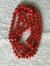 Red necklace Oasis