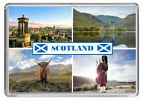 Scotland Fridge Magnet