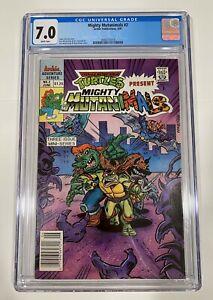Archie Comics 1991 Mighty Mutanimals 2 CGC 7.0