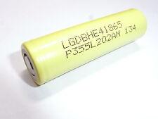 1 batteria   LG ICR 18650-HE4 2500 mAh 20/25A descharge 10C