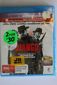 Django Unchained BluRay NEW SEALED Samuel L Jackson