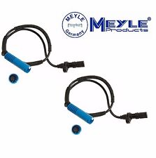 BMW E53 X5 2001-2003 Pair Set of 2 Front ABS Wheel Speed Sensor Meyle 3148990056