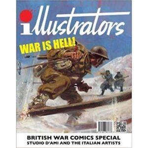 Illustrators: War is Hell!  British War Comics Special  -  9781907081477