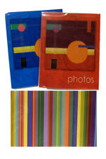 Kenro Inca Pocket Albums - 6x4 or 7x5 - Red, Blue or Stripe