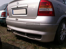 Vauxhall Opel Astra G MK4 98-05 Rear Bumper Spoiler Hatchback Diffuser diffuzer