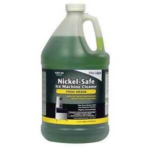 Nu-Calgon 4287-08 Ice Machine Cleaner,1 Gal.,Green