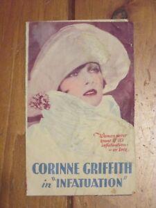 Infatuation   - Original 1925   Movie Herald - Griffith