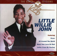 "LITTLE WILLIE JOHN  ""THE EARLY KING SESIONS""  CD"