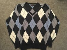 Paul & Shark Yachting Wool V-neck Sweater, Size M, Made In Italy!