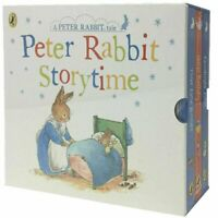 NEW Peter Rabbit Storytime Tales 3 Books Collection Kids Gift Set Beatrix Potter