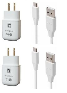 LG Stylo 4/4+/Stylo 5/Stylo 6/Stylo 7 OEM LG Fast Wall USB-C+Non OEM Car Adapter