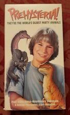 Prehysteria! VHS VCR Video Tape Used  Brett Cullen dinosaurs