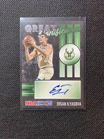 2020-21 NBA Hoops Ersan Ilyasova Great Significance Auto Milwaukee Bucks! HOT!