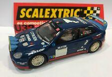 SCALEXTRIC CITROEN XSARA WRC GITANES DECORACION ARTESANAL EXCELENTE CONDICION