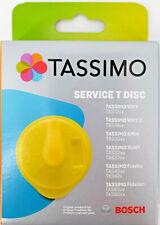 Bosch Tassimo 17001490 Gelb Service T Disc Reiniger Reinigung Entkalkung Ersatz