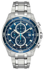 Citizen Eco-Drive Titanium Men's CA0349-51L TI+IP Chronograph 43mm Watch