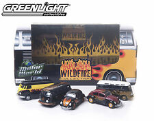 GREENLIGHT MOTOR WORLD WILD FIRE DIORAMA SET OF 5 DIECAST
