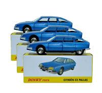 3pcs Suit Atlas Dinky Toys 011455 Citroen Cx Pallas 1:43 Diecast Car model