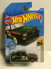 RARE 2019 Hot Wheels '84 Audi Sport QUATTRO GREEN NIP
