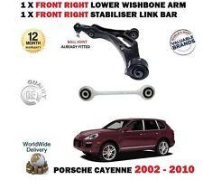 Para Porsche Cayenne 2002- > Eje Delantero Horquilla Derecho Brazo + Barra