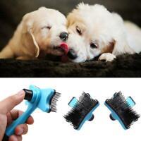 Pet Grooming Brush DeShedding Tool Comb Edge Trimming Cat Dog Fur Removal Rake