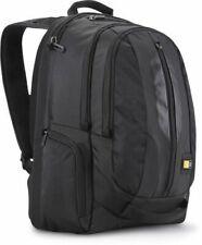 """Case Logic 17.3"""" Laptop iPad Tablet Rucksack Backpack Case RBP-217 Black NEW"""
