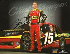 2012 Clint Bowyer 5 HOUR ENERGY NASCAR RACING Signed Auto 8.5x11 Postcard