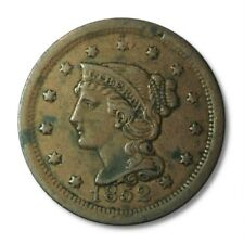 United States Large Cent 1c 1852 Fine