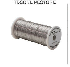 28ga Stainless Steel Dead Soft Wire For Crafting Or Binding Wire 1185ft