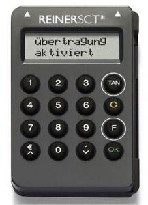 ReinerSCT TanJack optic SR, TAN-Generator Chipkartenleser für Onlinebanking NEU