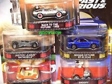 HOT WHEELS 2017 RETRO ENTERTAINMENT SET OF 5 NISSAN SKYLINE DELOREAN FLINTMOBILE