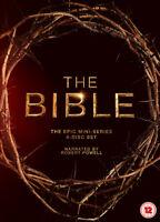 The Bible: The Epic Miniseries DVD (2013) Diogo Morgado cert 12 4 discs