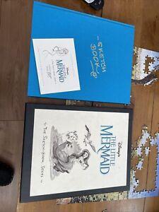 Wat Disney Little Mermaid Sketch Book Series 755 Of 2500 Never Been Read