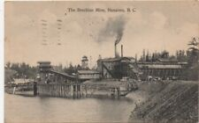 1916 Postcard of the Brechian Mine Nanaimo British Columbia Canada