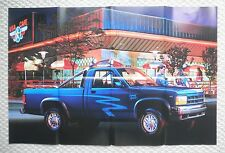 1991 Dodge TRUCKs Brochure w/ DAKOTA Poster: RAM,50,PickUp,RAMCHARGER,150,250,