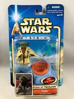 Star Wars Attack of the Clones Yoda Jedi High Council Action Figure