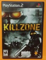 KILLZONE  PS2 Playstation 2 COMPLETE Game 1 Owner  Mint Disc