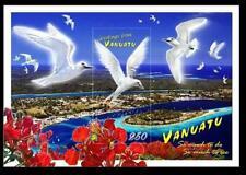 VANUATU 2008 MNH S/S, FLOWERS, PLANTS, BIRDS, Greetings