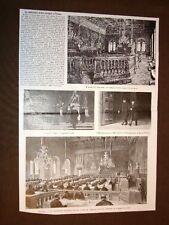 Firenze nel 1905 Conferenza europea per gli orari dei treni Palazzo Vecchio