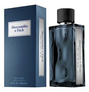 First Instinct BLUE by Abercrombie & Fitch Eau De Toil Spray 1.7 oz, NEW, SEALED