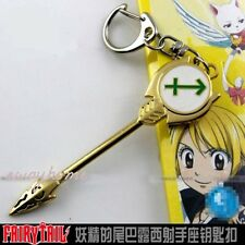 New Fairy Tail Lucy Heartfilia Key Pendant Necklace Cosplay Metal Magic Keychain