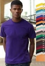 Fruit Of The Loom Plain Cotton Valueweight Tee T-Shirt S-M-L-XL-XXL-XXXL-XXXXL