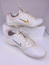 Cheerleading shoes NIKE White Leather Size 8 Women's. Ne Marque PAS, Non-marking