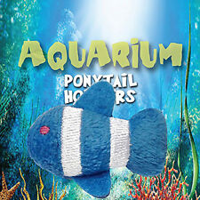 Blue/White Fish Ponytail Pals Ponytail Holder