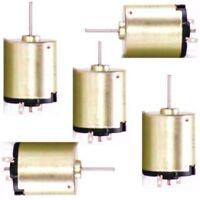 5er-Pack 12V Mini Motor Minimotor Kleinmotor Elektromotor Modellbau Gleichstrom
