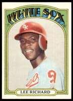 1972 Topps (Jvb291) Lee Richard Chicago White Sox #476