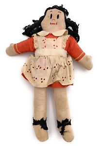 Antique Vintage Little Lulu Doll 16 Inches Circa 1940