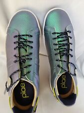Plae Shoes Mulberry 4.5Man/ 6Woman Green Metallica
